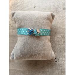 Bracelet Elsa et son coeur